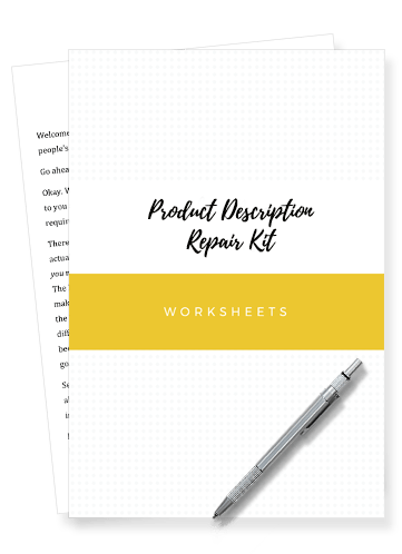 Product Description Worksheets