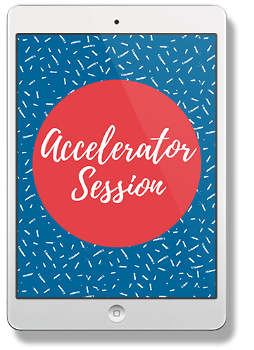 Accelerator Session ipad