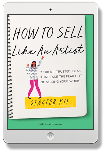 Sell Like An Artist ipad 2